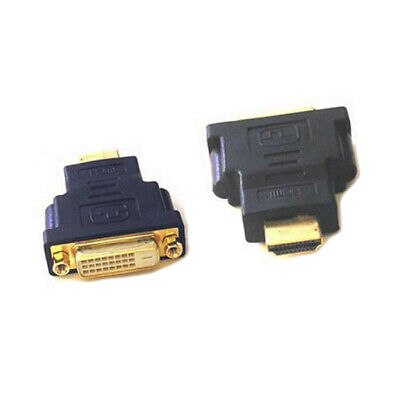 DVI-D Dual Link (24+1 pin) Female to HDMI Male Adapter / Converter / Connector