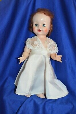 Vintage Pedigree Doll  Made in England Height: 35 cm