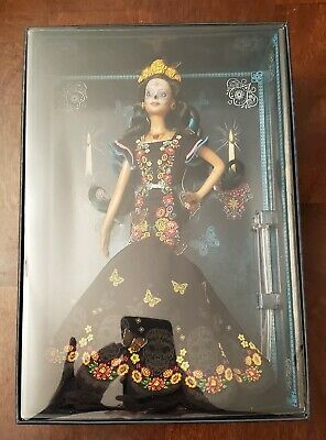 BARBIE Dia De Los Muertos Day of The Dead Mexican Doll IN HAND READY TO SHIP