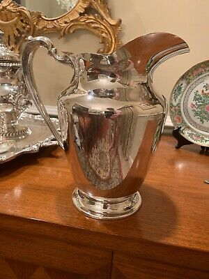 Wilcox International Silver 790 Pitcher  Vintage Plate Heavy Pristine
