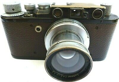Leica 11 Camera With Leitz Summar 5Cm F1:2 Lens.
