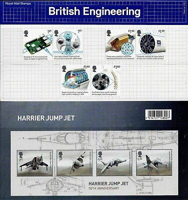 Gb 2019 Mint British Engineering Presentation Pack 570 Stamps Miniature Sheet