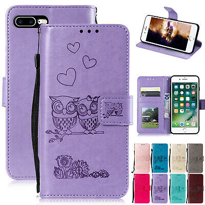 For iPhone 8 Plus 6 6s 7 XS Max XR Case Magnetic Leather Wallet Flip Stand Cover