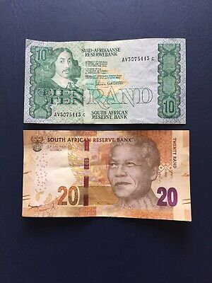 Various Circulated South African Bank Notes. Ideal For An Avid Note Collector