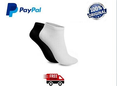3/6/12 Pairs Mens Womens Trainer Liner Ankle Cotton Sports Socks 7-9 & 9-12 LOT