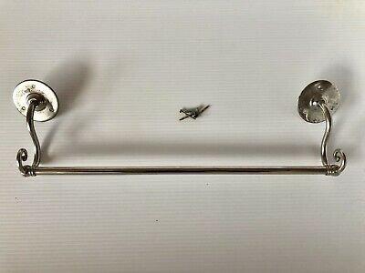 S. Sternau & Co. Antique Fancy Towel Bar Rack Victorian Bathroom Fixture