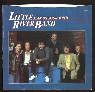 Little River Band--Man on Your Mind--1982 Picture Sleeve Only