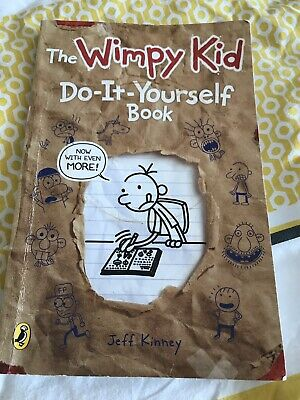 Diary of a Wimpy Kid: Do-It-Yourself Book by Jeff Kinney (Paperback, 2011) - FRE