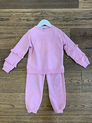 Moschino Girls Tracksuit Set Age 5