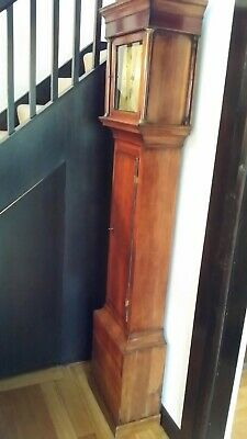 Grandfather Clock- Long Case 8 Day By Longhurst Steyning Sussex