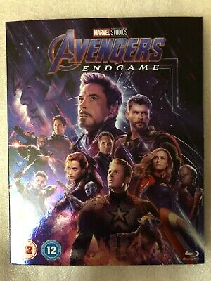 Avengers Endgame Blu-Ray 2 Discs. With Cardboard Sleeve. Brand New. Still Sealed