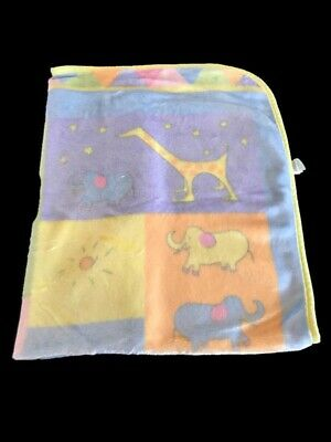 Carters John Lennon Musical Animal Parade Real Love Plush Pastel Baby Blanket