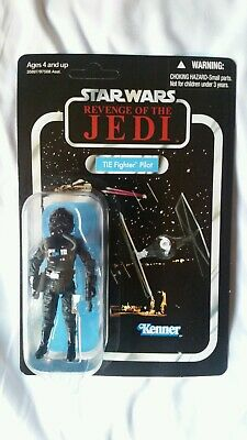 Star Wars Revenge Of The Jedi TIE Fighter Pilot Figure VC65 2011 SDCC Death Star