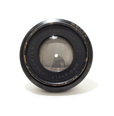 Air Ministry 5.5 Inch F/6.5 Wide Angle Lens | 14/A 718 | Rear Element Scratched.