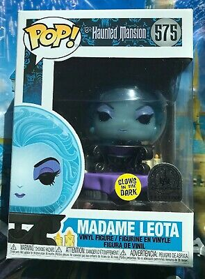 Funko Pop Disney Exclusive Madame Leota GITD #575 New In Hand Haunted Mansion