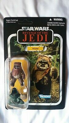 Star Wars Vintage Collection Revenge Of The Jedi Wicket VC27 From 2011 SDCC!!!!!
