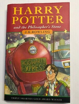 Harry Potter and the philosopher's stone Signed By Author 1st 1997 Bloomsbury