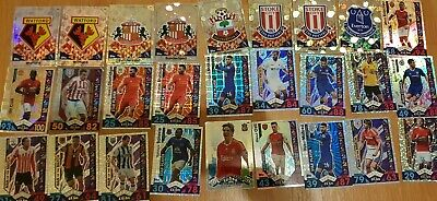 Bundle Of Match Attax 2016/17,15/16 & few others, 16/17 Folder, 100's Of Cards