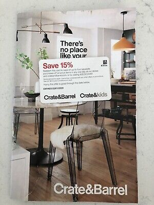 Crate and Barrel 15% off - Exp 2/1/2020 Save On Up To Four Separate Purchases