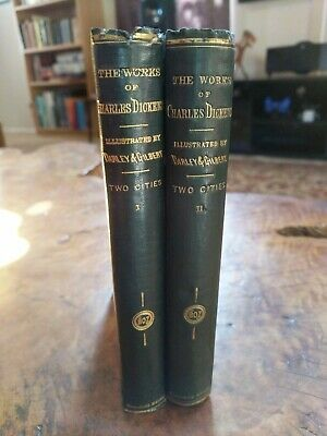 The Works Of Charles Dickens Household Ed. A Tale Of Two Cities. 1865.
