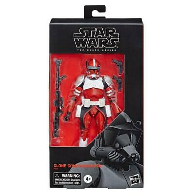 Star Wars The Black Series Clone Commander Fox  6 Inch / Gamestop Usa Exclusive