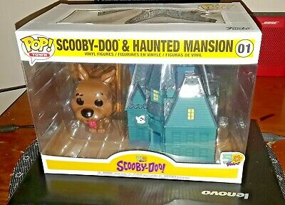 Funko Pop! Animated Television Scooby-Doo POP TOWN, Scooby-Doo and HOUSE!