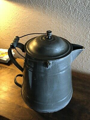 Antigue Agot Coffee Pot