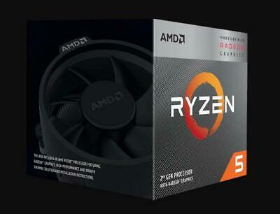 AMD Ryzen 5 3400G Processor 4MB 3.7 GHz AM4 4 Core 8 Thread CPU Vega 11 Graphics