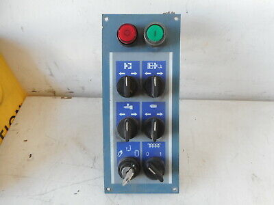 OPERATOR PANEL -- BATTENFELD -- Start/Stop Keyed selector and more