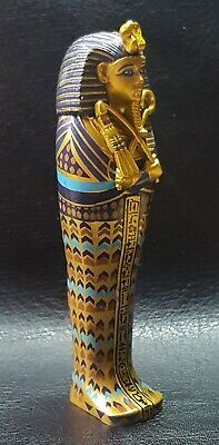 TUTANKHAMUN Detailed Reproduction Canopic Coffinette