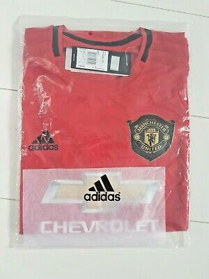 Manchester United 19-20 Home Shirt Man Utd Football Soccer Jersey