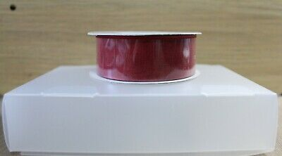 Stampin' Up Sheer Linen Ribbon - Cherry Cobbler