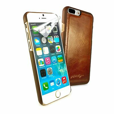 Alston Craig Genuine Leather Replacement Magnetic Shell for iPhone 7 / 8 - Brown