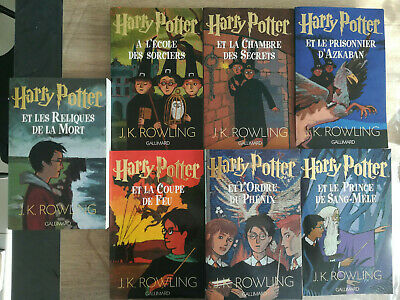 Harry Potter Collection Complete Livre Gallimard Eur 104