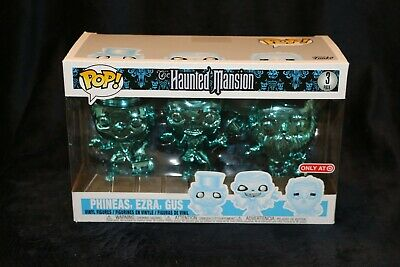 Funko POP! Disney The Haunted Mansion 3 pack Target Exclusive - FREE SHIPPING