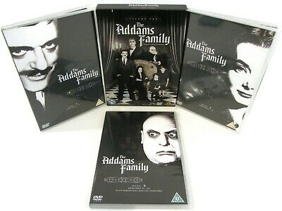 The Addams Family DVD Series 1 TV Series 1964 Black And White 22 Episodes