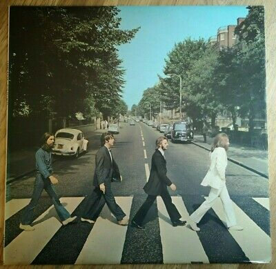 The Beatles LP Abbey Road UK Apple press -2 -1 Majesty credit ))))