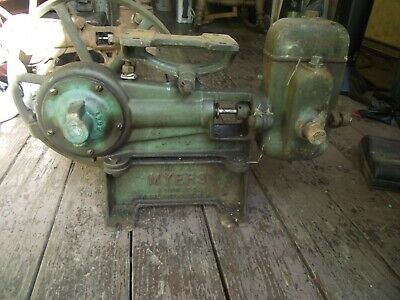 Antique Myers cast iron water pump