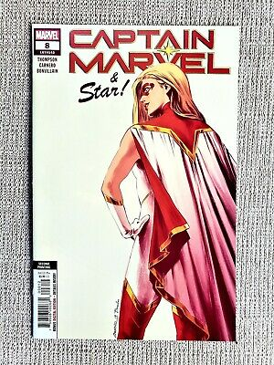 CAPTAIN MARVEL #8 2nd print; 1st Star; 1st cover appearance Carnero variant; NM