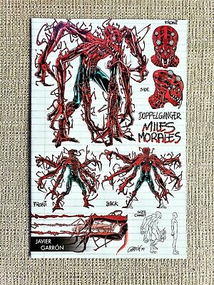 ABSOLUTE CARNAGE MILES MORALES #1; Garron Model variant edition; NM