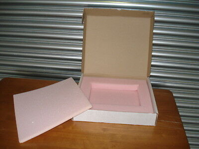 Foam Packing Within Cardboard Box For Safe Transportation
