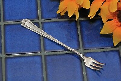 Oneida 1881 Rogers Silverplate  HENLEY Cocktail Seafood Fork 1930 FREE SHIP
