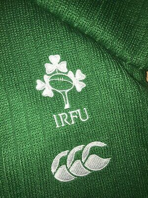 NEW Canterbury Official Rugby World Cup Scarf. Ireland. Emerald Green.One Size.