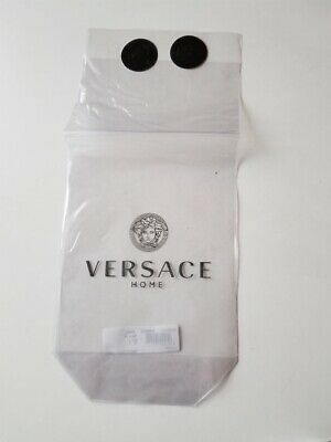 Versace Home Clear Plastic Packaging Bag Pouch With Stickers