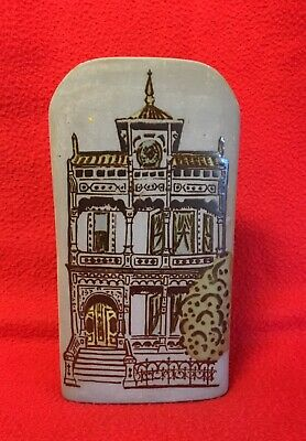 Counterpoint Japan Pottery Wall Pocket Vase. San Francisco House