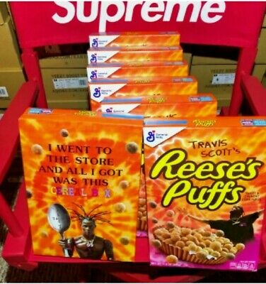 Travis Scott Reese's Puffs Cereal Limited Edition Family Size