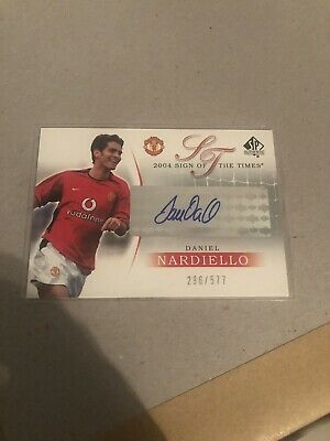 Upper Deck. 2004 Sign Of The Times. Daniel Nnardiello 295/577