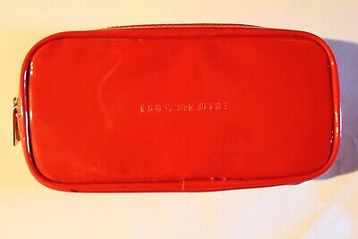 Ruby And Millie Red Pvc Cosmetic Make Up Bag Case