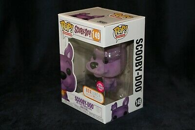 Funko Pop! SCOOBY DOO Purple Flocked Box Lunch Exclusive Ready To Ship Fast Free