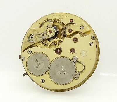 IWC 43mm International Watch Co Schaffausen antique pocket watch movement w/Dial